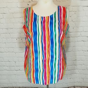 Circus striped tank, vintage for sale
